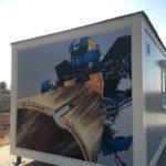 художественная роспись контейнеров