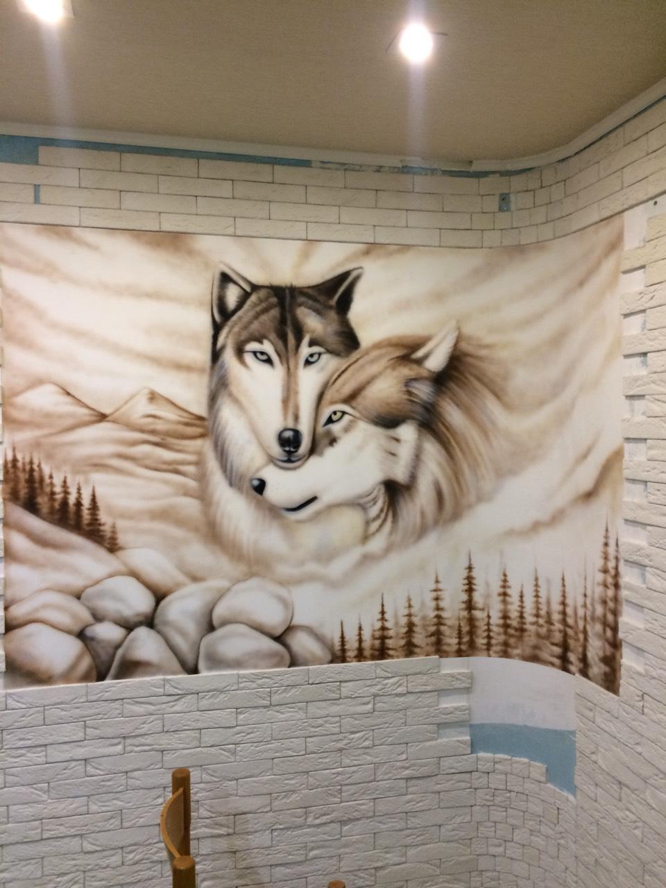 роспись стен в минске